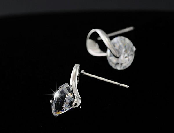 Crystal Stud Earrings For Women