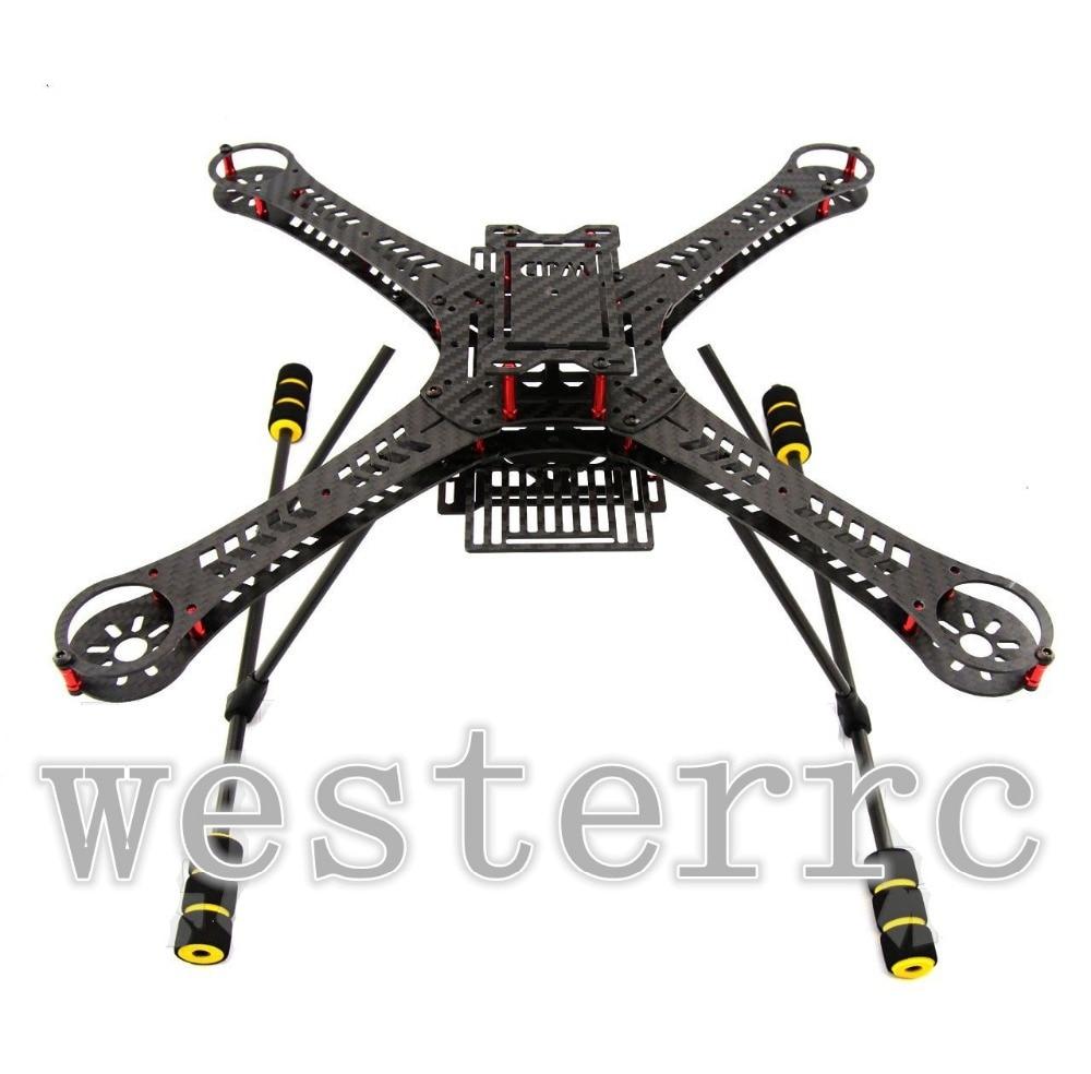 WST DIY through X360 mini drone FPV quadcopter 3K Carbon fiber 360mm ...