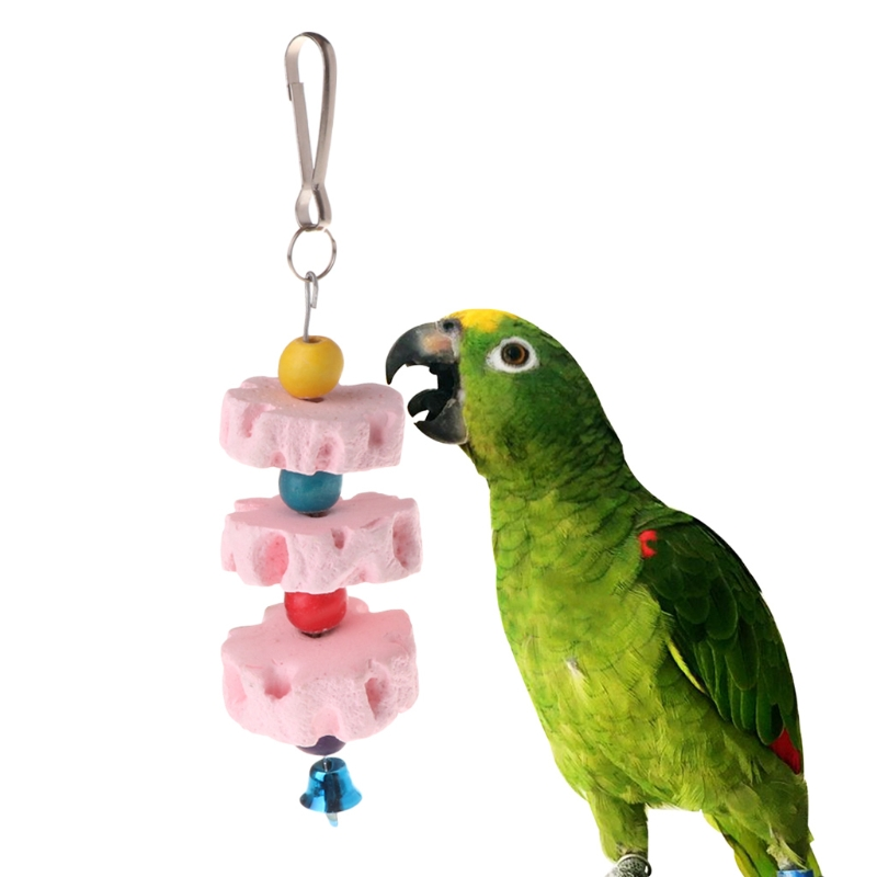 Aliexpress.com : Buy Parrot Mouth Grinding Stone Cage Toy