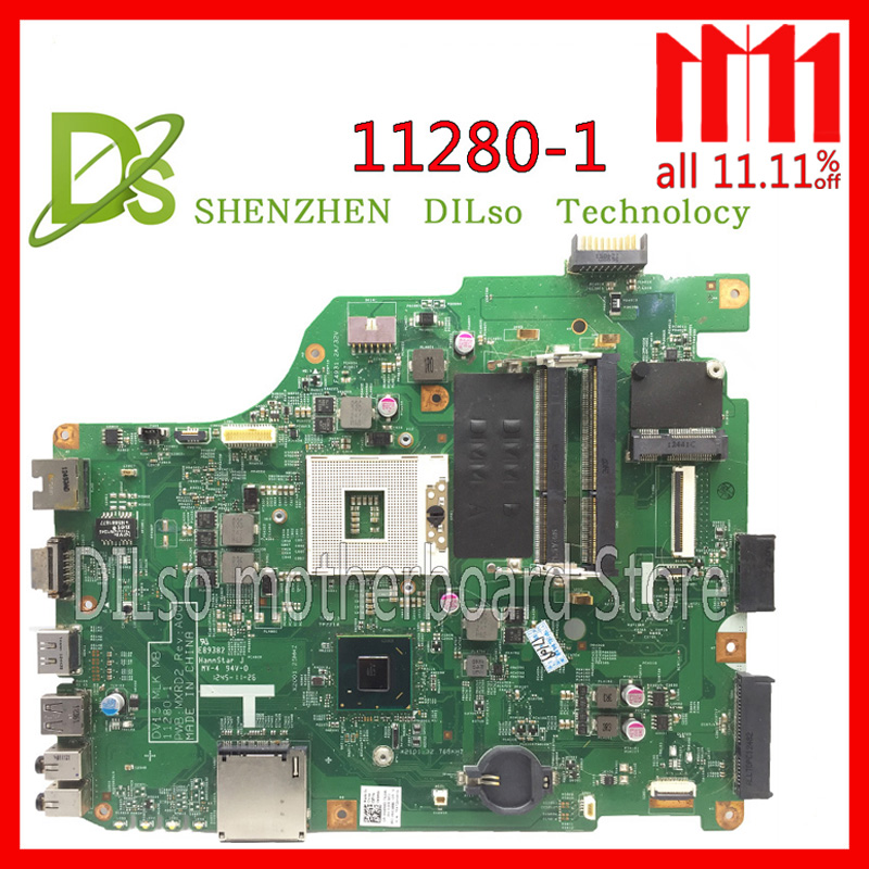 KEFU 11280-1 for dell 3520 DV15 MLK MB 11280-1 PWB:MXRD2 REV:A00 laptop motherboard FOR DELL INSPIRON 3520 HM75 Test автоакустика hertz mille mlk 2