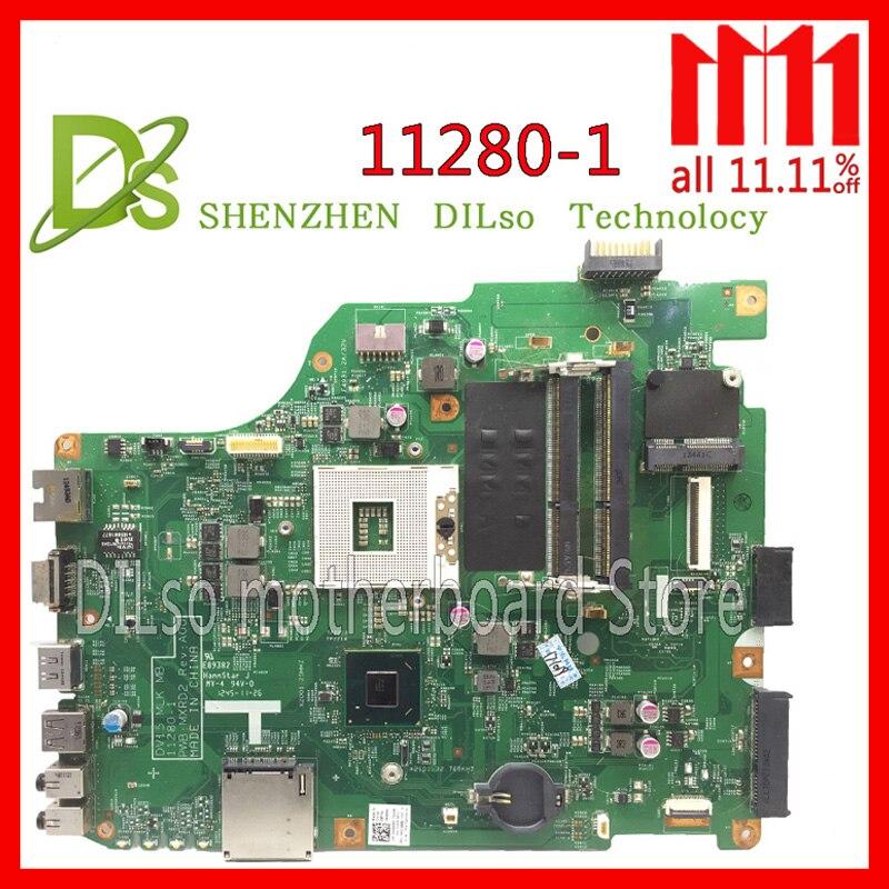 KEFU 11280-1 pour dell 3520 DV15 MLK MB 11280-1 PWB: MXRD2 REV: a00 mère d'ordinateur portable POUR dell INSPIRON 3520 HM75 Test