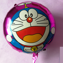 10pcs 2018 New Tinkling cat foil balloon kitty balloon.Birthday Party Decorations kids baby shower  Supplies