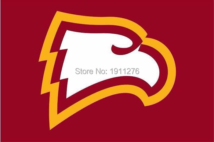 Image result for winthrop eagles logo colored background