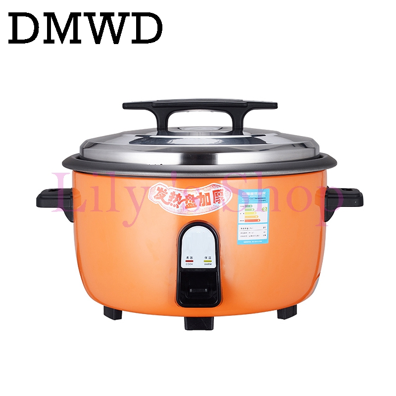 Commercial electric pressure rice cooker 10L intelligent smart rice steamer non-stick rice pot for canteen restaurant EU US plug smart electric rice cooker 3l alloy ih heating pressure cooker home appliances for kitchen smartphone app wifi control