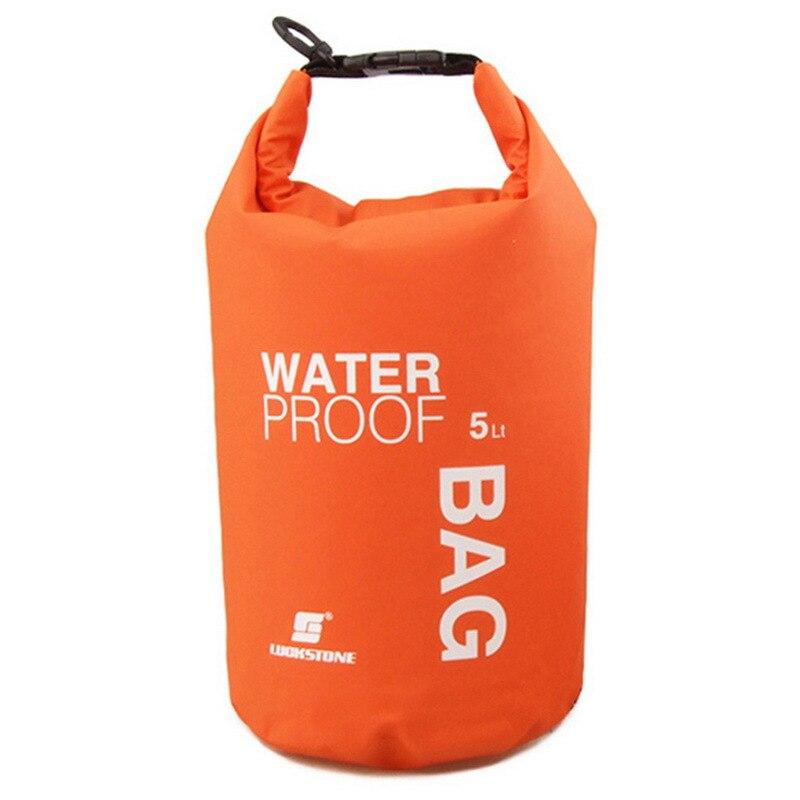 4 Colors 2L Ultralight Portable Outdoor Travel Rafting Waterproof Dry Bag Swim Storage Hot