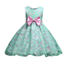 (Ship from US) 2018 Fashion design Children s party dress Flower Baby Girl  Princess Bridesmaid Pageant Gown Birthday Party Wedding Dresses   4 43eaa01cfd61