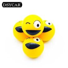DSYCAR 4 шт./лот Универсальный Автомобиль Велосипед Moto Шины Колеса Клапан Крышки автомобиль Стайлинг для Fiat, Audi, Ford, Bmw, VW, toyota, opel, renault, DS