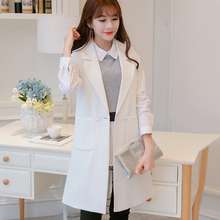 Spring Autumn long suit blazer clothes show thin Tank top sl