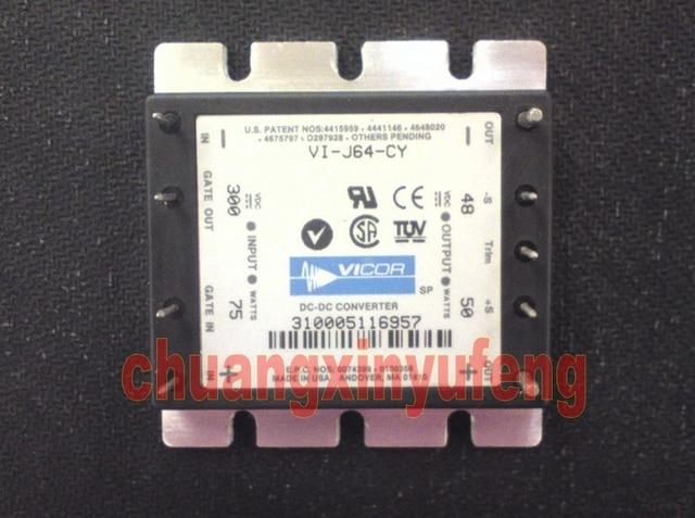 converter module VI-J64-CY VICOR Half Brick DC-DC Power module DC 300V-48V 50W1A isolated power supply module