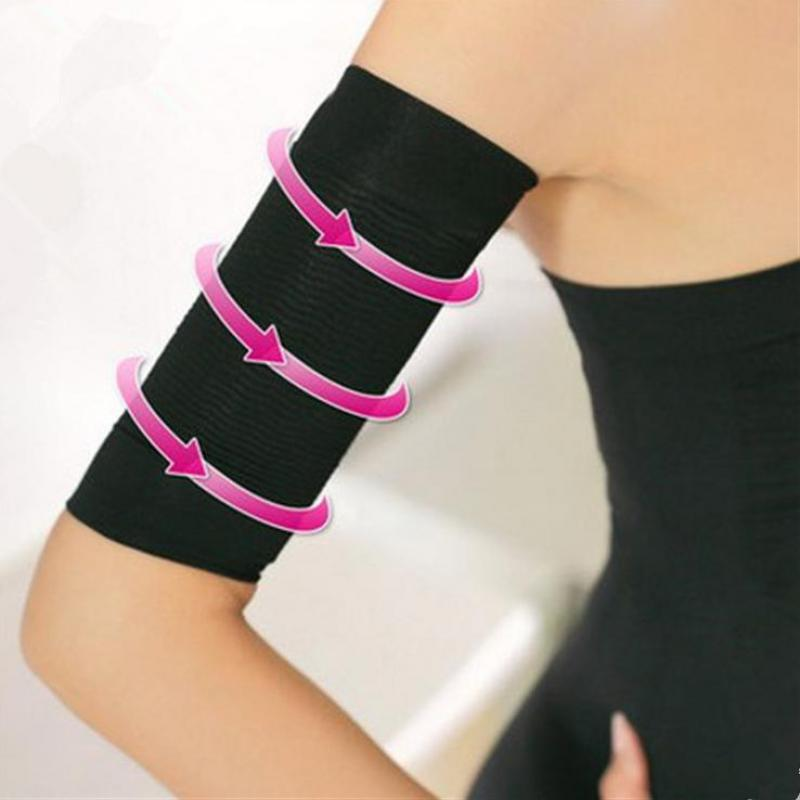 Arm Thigh calf weight loss body shape upward slim belt elastic flexible weight loss shape slimming leg band package in Women 39 s Arm Warmers from Apparel Accessories
