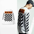 High Quality kanye west t-shirt Mens Off White T Shirt Hip Hop Long Sleeve t-shirts Off-White Tshirt For Men US/EUR SIZE S-3XL
