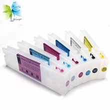 Winnerjet printer ink cartridge with chip + 2 sets stable one time use for Epson T3270 T5270 T7270