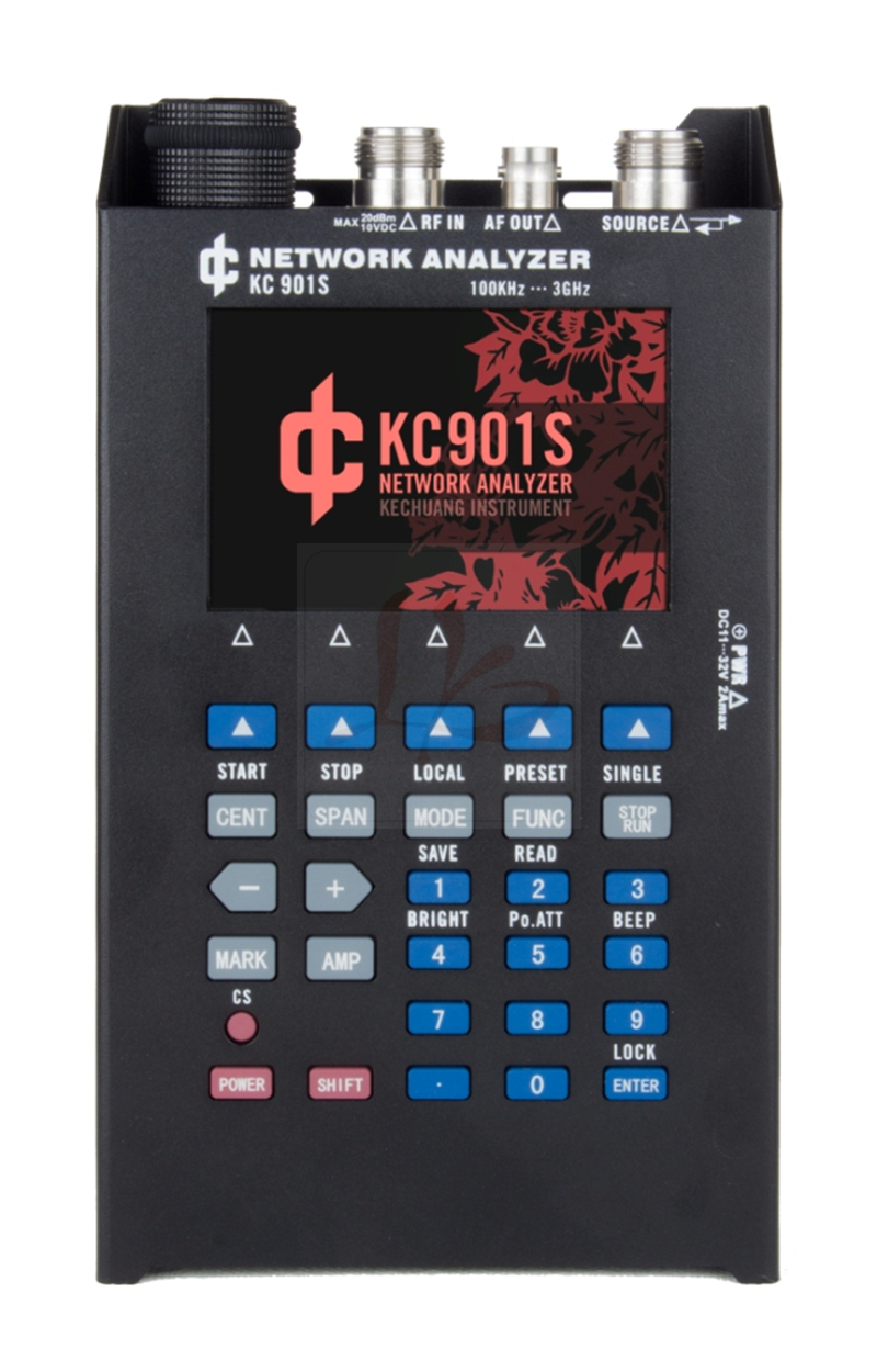 New arrival vector network analyzer KC901S frequency spectrum field strength radio frequency SWR standing wave test new style nissel rs 70 digital swr