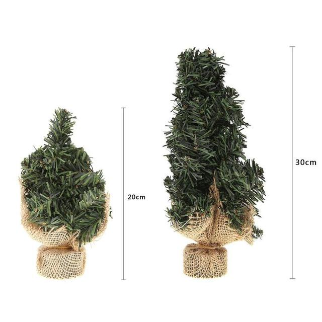 mini artificial christmas tree decoration noel 2018 christmas decorations for home xmas ornaments natal kerst decoratie