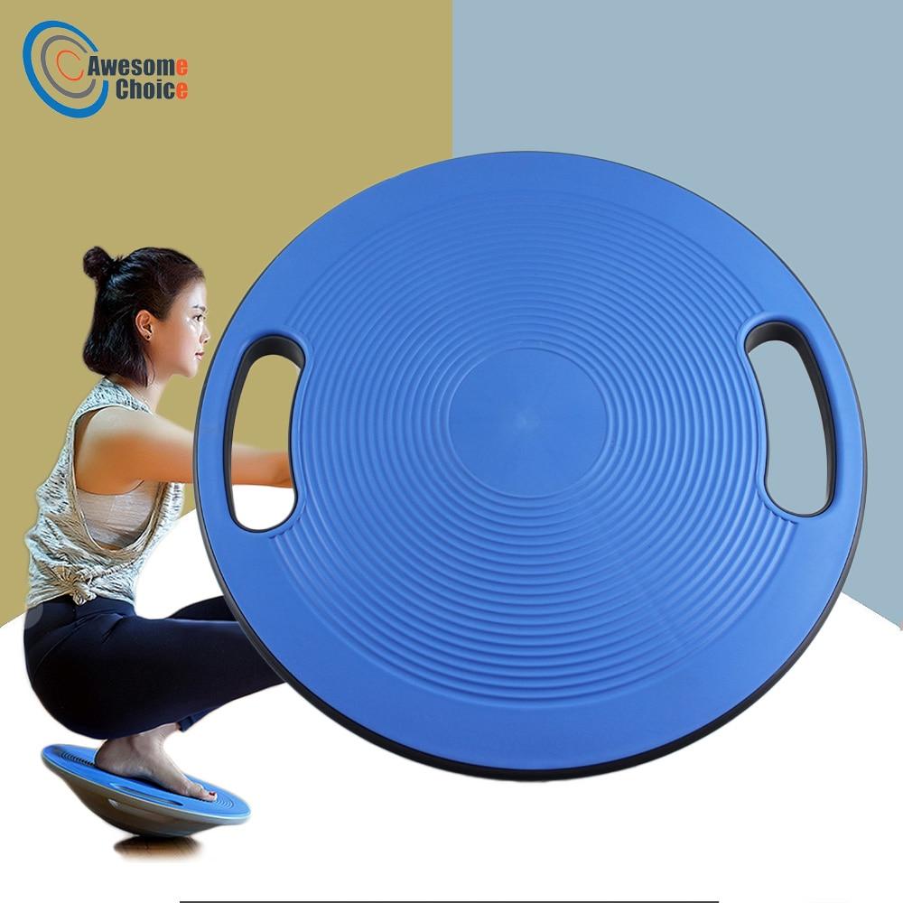 40 Cm Stabiliteit Disc Taille Wriemelende Cirkelvormige Plaat Sport Antislip Yoga Swing Balance Board Beer 250 Kg Balance Board Meer Kortingen Verrassingen