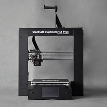 Wanhao 3D принтер i3 плюс, хороший сенсорный ЖК-дисплей. в том числе один принтера, один запасные части, тестирование нити 10 м.