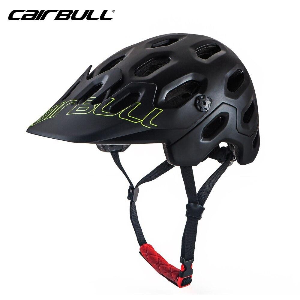 CAIRBULL Cycling Helmet With Detachable Visor Mtb Helmet Men Ultralight Helmet Capacete da bicicleta Bicycle Bike Helmet 56-62cm