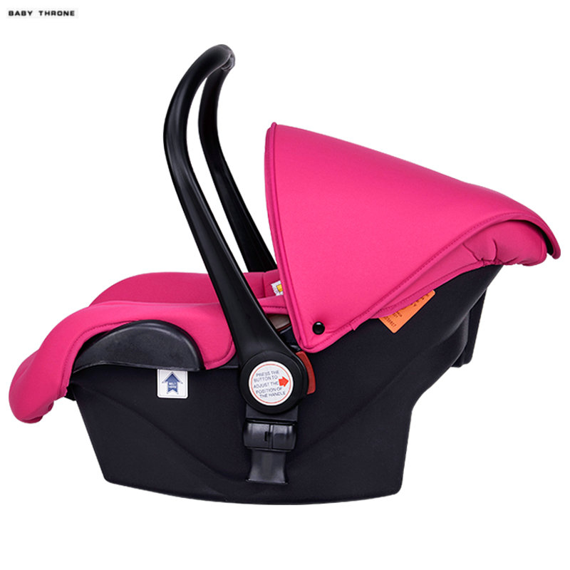 где купить BABYTHRONE 3 in 1 Newborn Baby Car Safety Seat, Portable Baby Basket, can be baby cradle with ECE certificate дешево