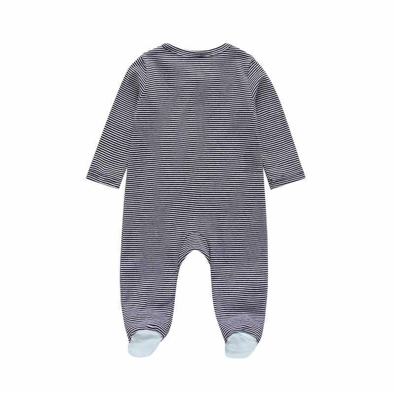 COSPOT/Детский комбинезон для новорожденных, комбинезон, боди-костюм, зимние комбинезоны, одежда в полоску для малышей, одежда для маленьких мальчиков, От 0 до 2 лет 2019 25