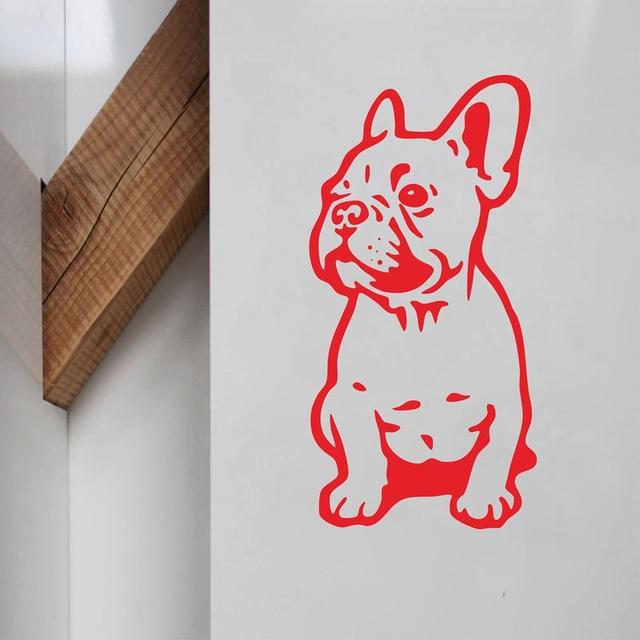 French Bulldog Vinyl Wall Sticker