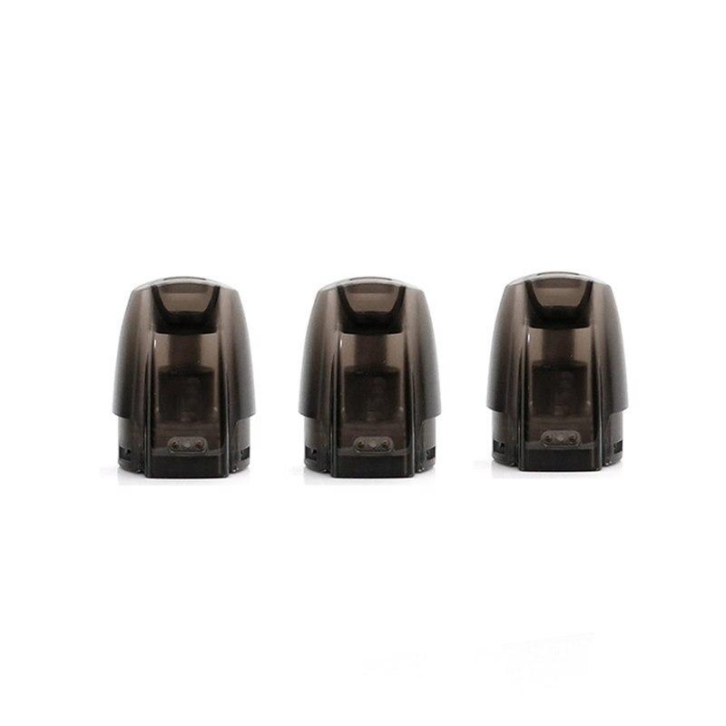 60 piezas JUSTFOG Minifit Pod 3 unidades cada paquete 1,5 ml de capacidad para JUSTFOG minifit Kit de cigarrillo electrónico accesorio