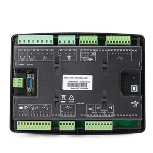 Image 3 - generator led controller 7320 genset parts alternator control board panel lcd display auto start remote electronic controller