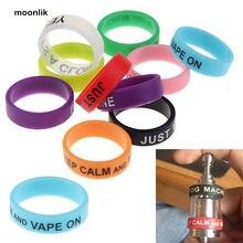 20% de descuento Hot Vape anillos silicona Anti Slip banda bandas para RBA RDA Tank Mods mecánicos cigarrillos Accesorios