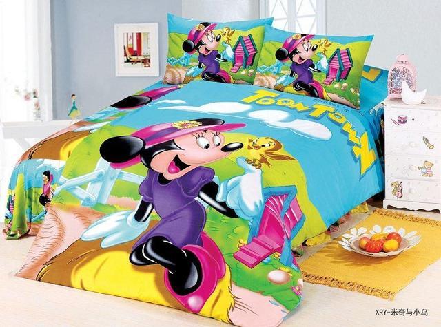 Minnie maus bettwäsche sets kinder Mädchen schlafzimmer dekor ...