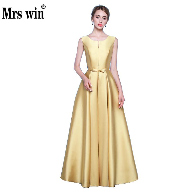 US $50.3 31% OFF|Simple Sleeveless Long Evening Plus Size Dress Satin  Bridal Banquet Formal Evening Gowns Dresses Custom Made Evening Party  Gown-in ...