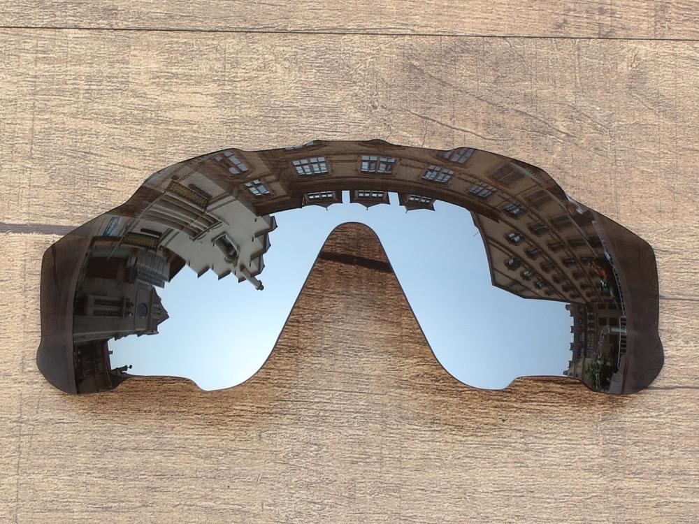 14365d7f60 Cromo Espejo De Plata Marco de Gafas de sol Polarizadas Lentes De Repuesto  Para Jawbreaker 100% UVA y Uvb en Accesorios de Ropa y Accesorios de las  mujeres