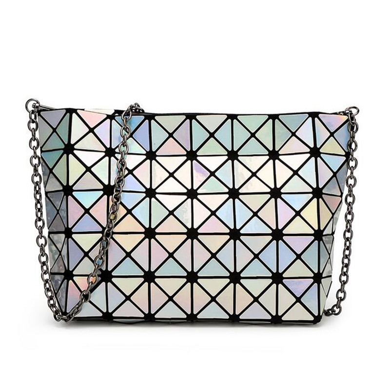 2016 Japan New Designer Madam Bag Chain Diamond Lattice Handbags lutches Women Fashion Bao Bao Shoulder