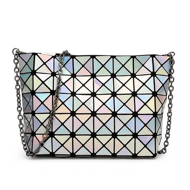 2016 Japan New Designer Madam Bag Chain Diamond Lattice Handbags lutches Women Fashion Bao Bao Shoulder