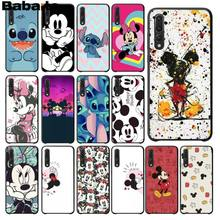 Babaite Mickey Minnie Colorful Cute Phone Accessories Case for Huawei Mate10 Lite P20 Pro P9 P10 Plus View 10 Cover(China)