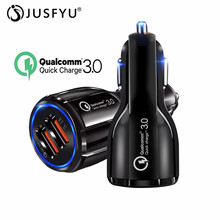 3.0 Quick Charge Charger QC Dual USB Car Fast Mobile Phone Travel Adapter Car-charge for iPhone 6 7 X Samsung