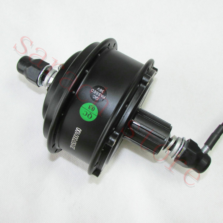 48V 350W Cassette Motor High Speed Brushless Gear Hub Motor E-bike Rear Motor pasion e bike 48v 1500w hub motor electric bicycle bicicleta brushless non gear rear motor high speed