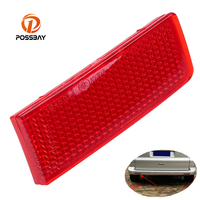 POSSBAY Night Runing Tail Lamps Fit For VW Touareg Typ 7P 2011 2014 Red Rear Bumper