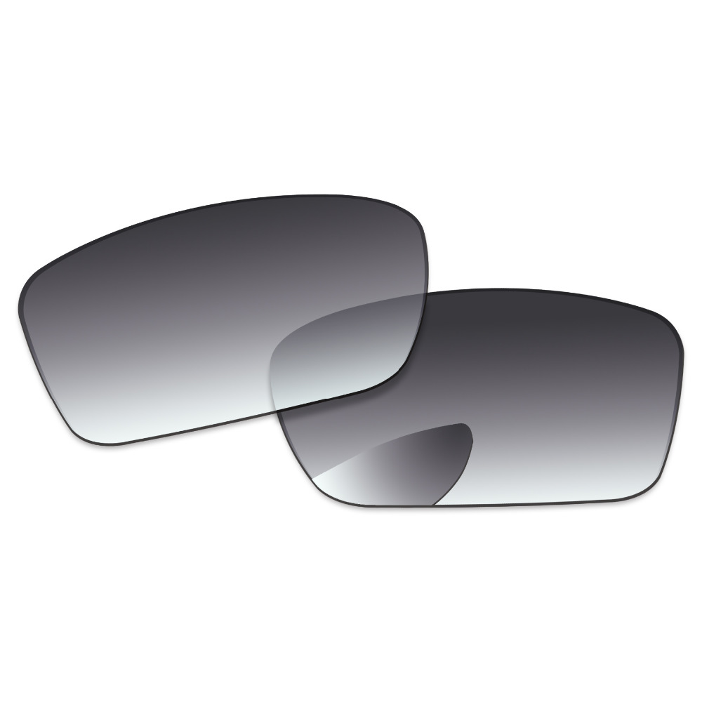 Grey Gradient Polarized Replacement Lenses For Conductor 6 Sunglasses Frame 100% UVA & UVB Protection