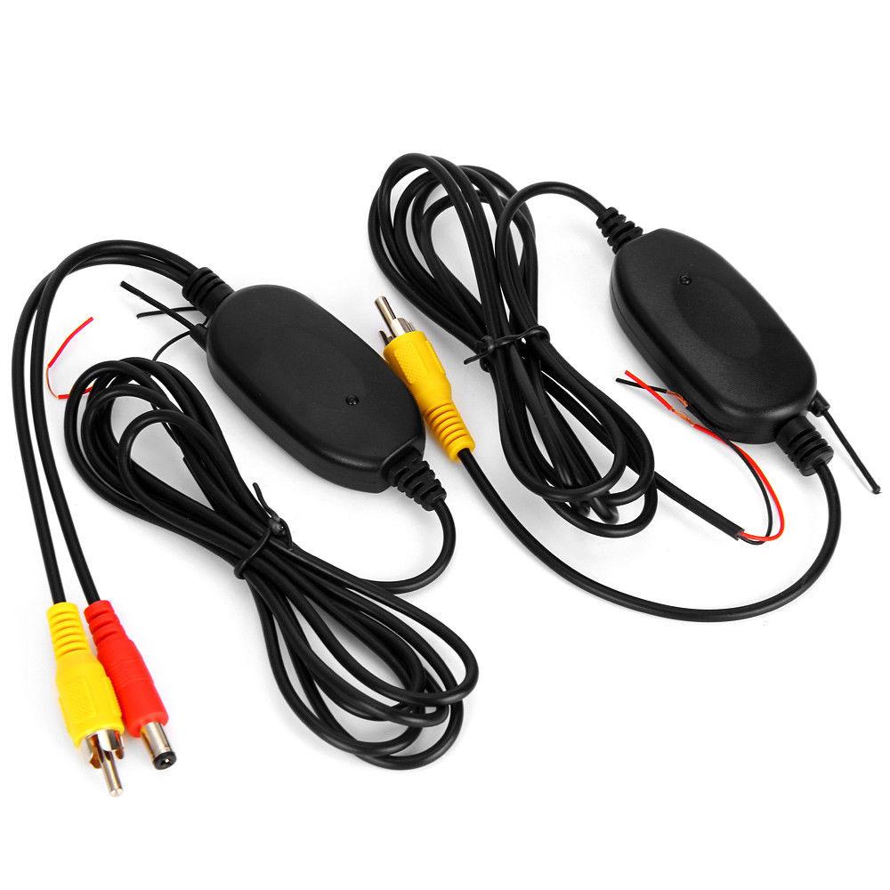 NEUE 2,4G Wireless Farbe Video Sender und Empfänger für Die Fahrzeug Backup Kamera Vorne Auto Kamera