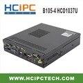 HCiPC B105-4 HCO1037U, C1037U Мини BOX PC, C1037 Мини Barebone, C1037 мини-компьютер, ОКНА Мини-ПК, Промышленный ПК, бесплатная доставка