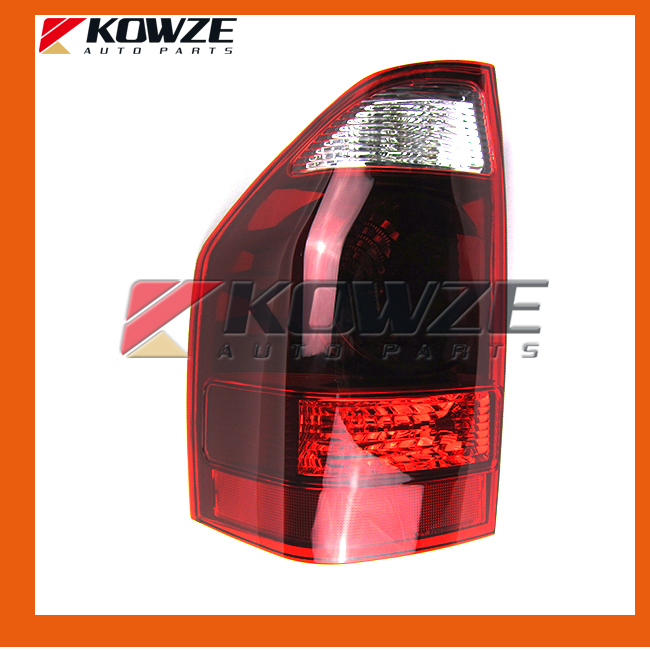 2PCS Tail Lamp Rear Light Left & Right For Mitsubishi Pajero Montero Shogun III 2003 MN133765 MN133766 1pcs right side rh 8330a598 rear tail light taillamp assembly for mitsubishi pajero v97 2007 2015
