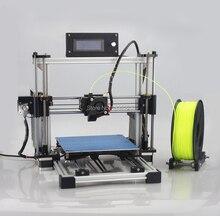 Лазерная гравировка + размер большой печать кровать высокой точности Reprap Prusa i3DIY комплект 3d принтер с 1 рулона нити 8 ГБ SD карта + жк для бесплатной