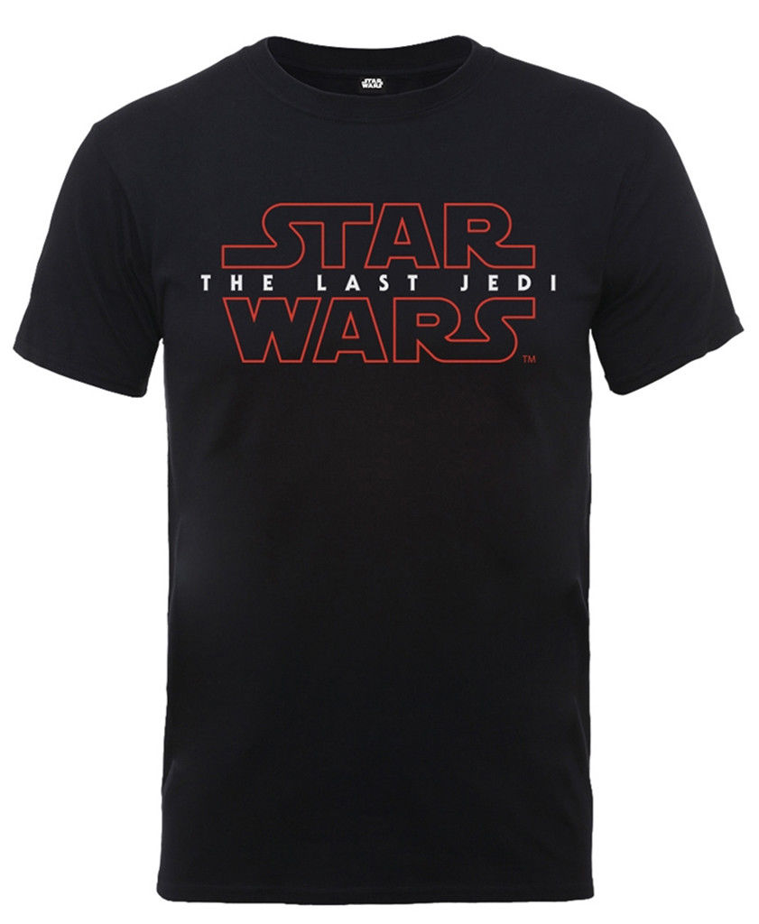 Star Wars The Last Jedi 39 Logo 39 T Shirt NEW Free shipping Harajuku Tops Fashion Classic Unique Cotton O Neck T Shirt in T Shirts from Men 39 s Clothing