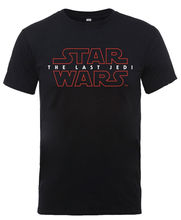 Star Wars - The Last Jedi 'Logo' T-Shirt - NEW  Free shipping  Harajuku Tops Fashion Classic Unique Cotton   O-Neck T Shirt цены