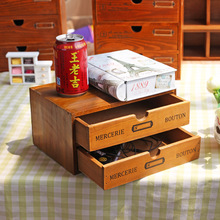Caioffer Double Layer Drawer Storage Box For Jewelry Disc Storage Decoration For Living Room Sundries Storage