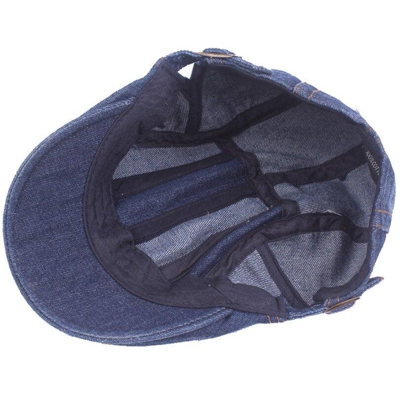 707b96e750491 Fasbys 2017 Nuevo Algodón de La Manera Gorras Planas Masculino Boina  Vintage Flat Cap Boinas Boinas Sombreros Sombreros Gorra de Los Hombres  Ocasionales ...