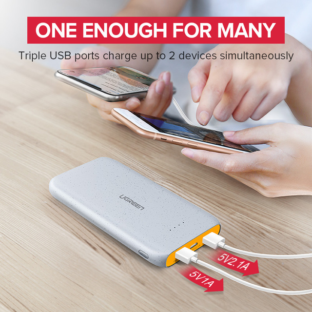 10000 mAh Ultra Slim Power Bank