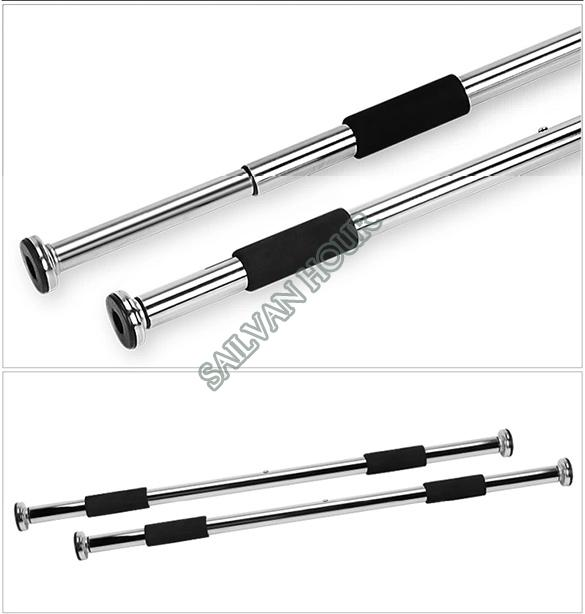 door horizontal bar household pull up bar door way gym bar home fitness equipment 60 100cm sv16 sv002908in horizontal bars from sports