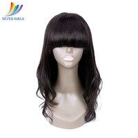Бразильский Натуральный волнистый 13*4 Синтетические волосы на кружеве человеческих волос Парики Природный Цвет натуральные волосы парики