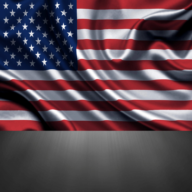 5x7FT Vintage US America Flag Wall Grey Floor Custom Photography - America Flag Background