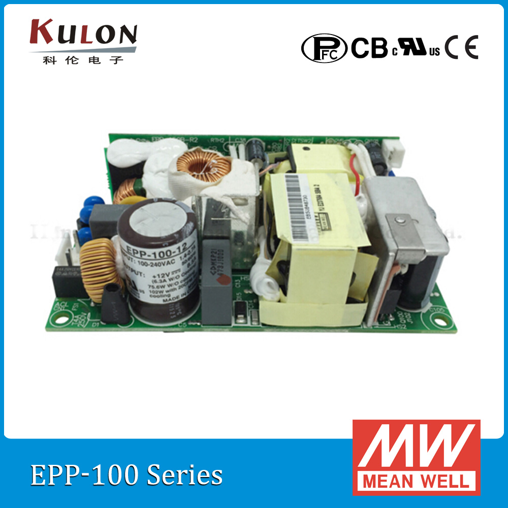 Original Meanwell EPP-100-12 8.5A 102W 12V mean well open frame PCB type Power Supply